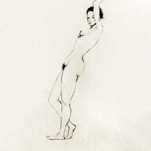 S/T. Tinta. 50 x 35 cm.