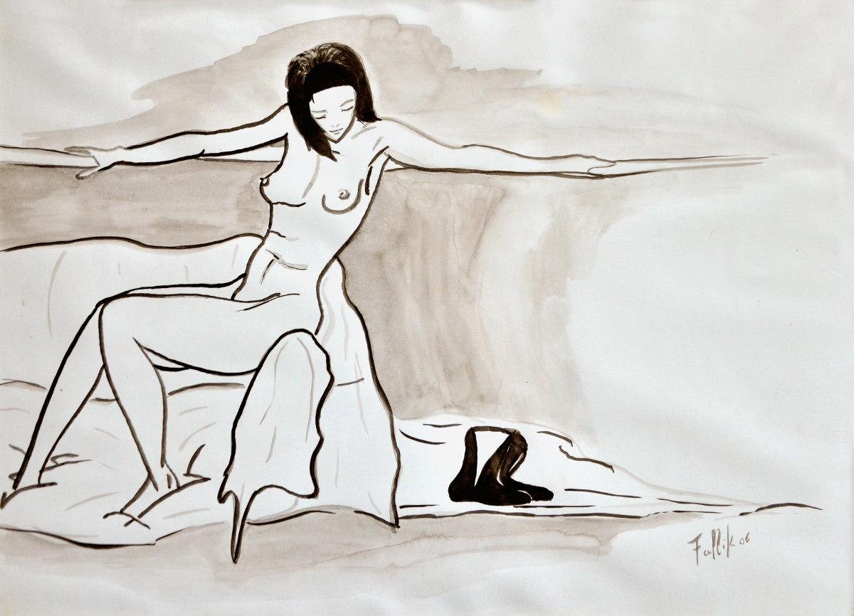S/T . Aguada. 35 x 50 cm.