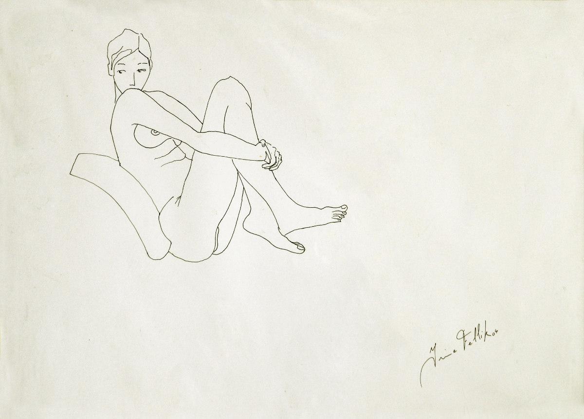 S/T. Tinta. 35 x 50 cm.