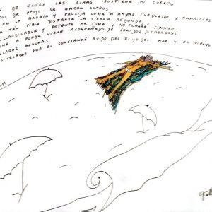 """""""La lona"""". Mixta. 35 x 50 cm. 2011"""