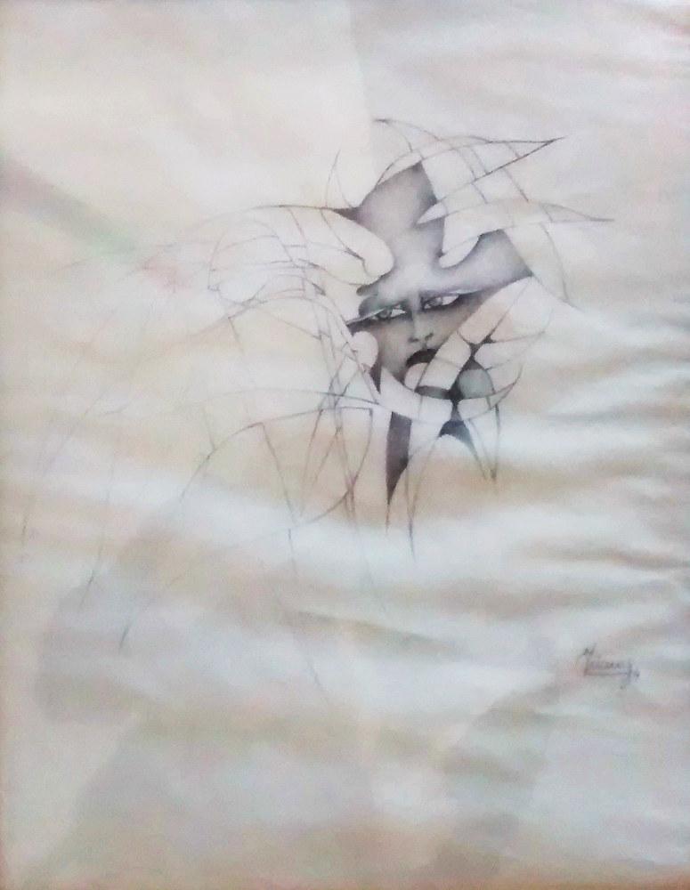 S/T.  Lápiz. 27 x 21 cm.  1984