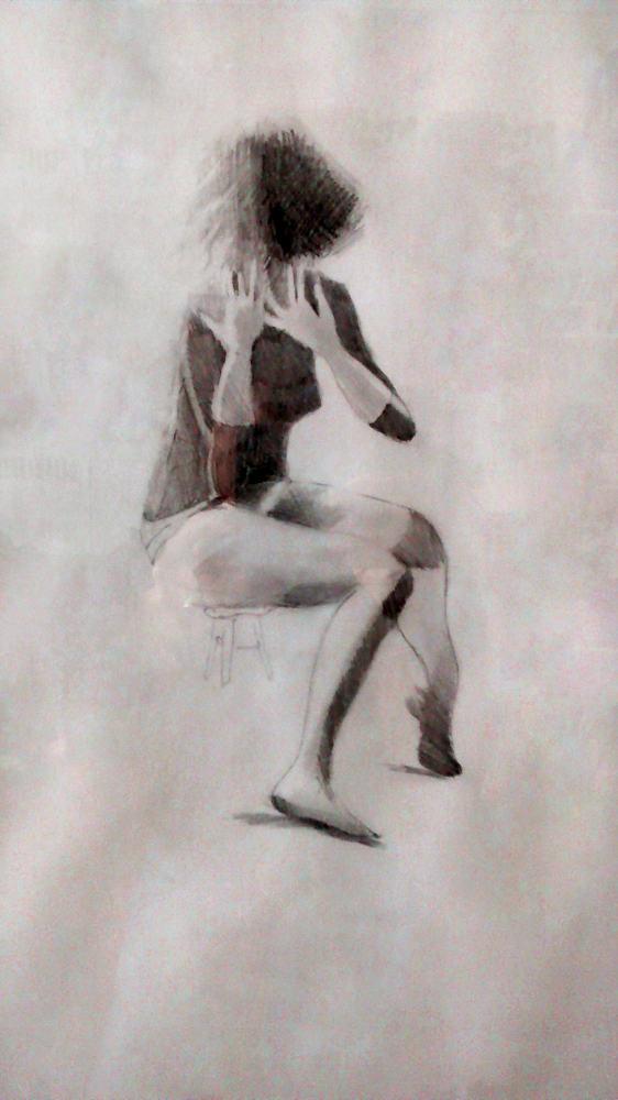 """""""Para Vivian"""" .70 x 50cm. 2010 <strong>    </strong>"""