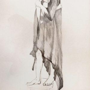 'Verán'. Lápiz. 50 x 35 cm. 2003   <strong>    </strong>