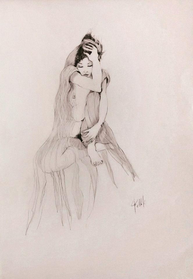 """""""Novia"""". 50x 35 cm. 2017"""