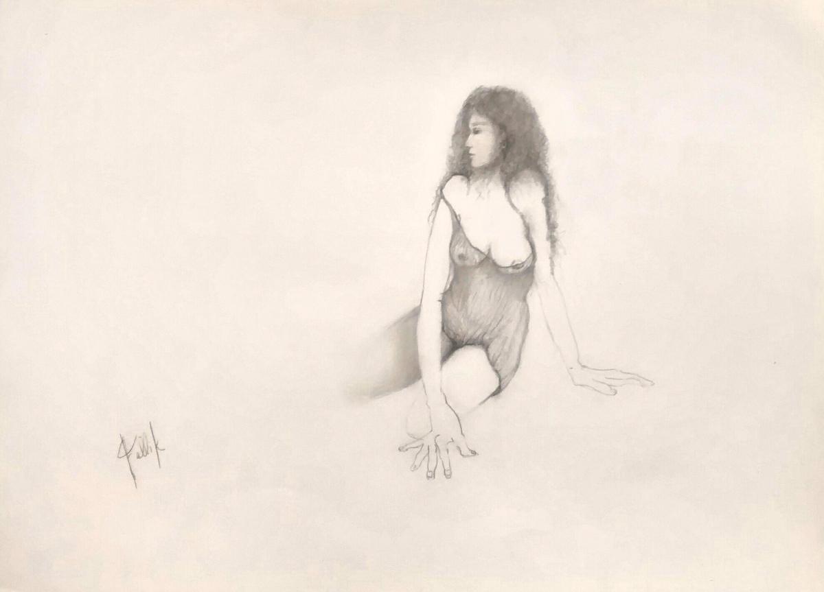 """""""Edith"""". 50 X 35 cm. 2017"""