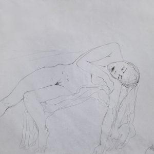 S/T. Lápiz. 35 x 50 cm.   <strong>    </strong>