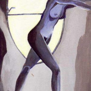 S/T,. Acrílico sobre tela. 30 x 20 cm. 2004