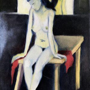 S/T. ÓLeo sobre tela. 30 x 20 cm. 2006