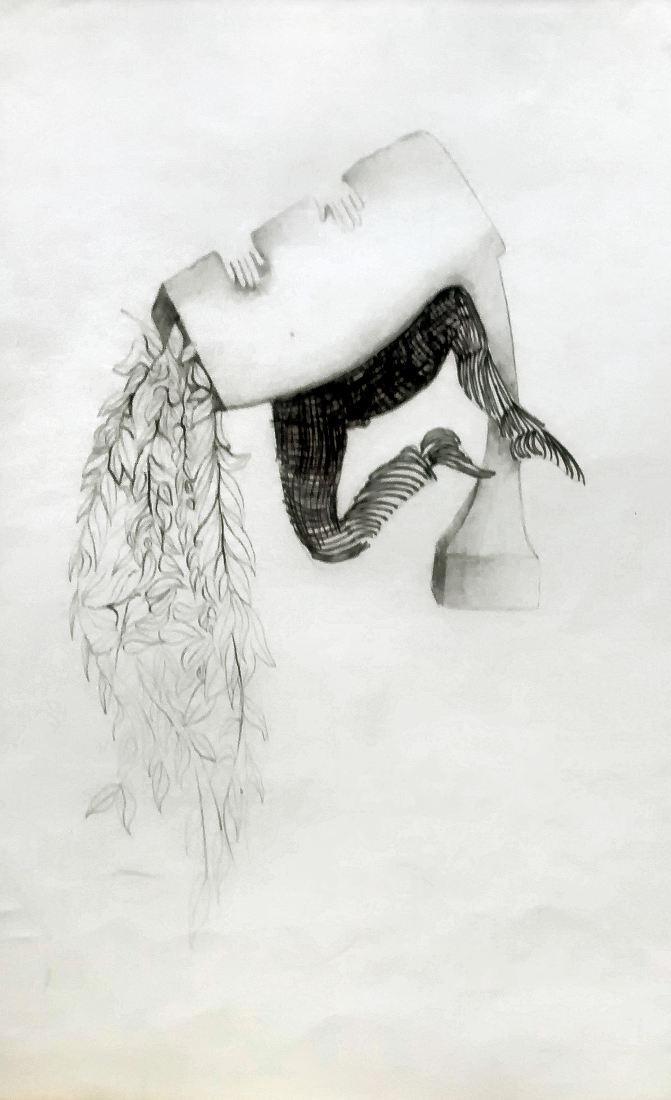 S/T. Birome y lápiz, 24 x 33 cm. 1973