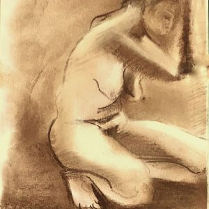 S/T. Siena/Sepia. 20 x 15 cm.