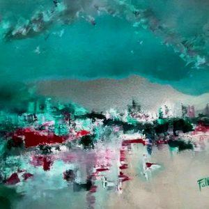 S/T. Acrílico sobre tela. 80 x 100 cm. 1998