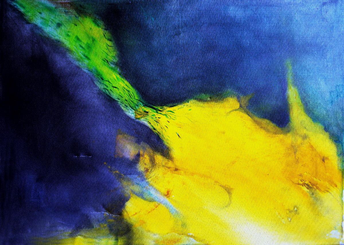 S/T. Acrílico sobre tela. 50 x 70 cm. 2012