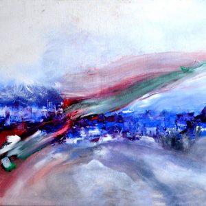 S/T. Acrílico sobre tela. 60 x 100 cm. 2012