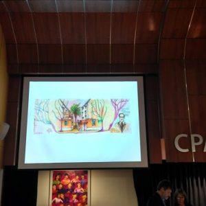 Muestra y Conferencia en el CPAU. Sept. 2018
